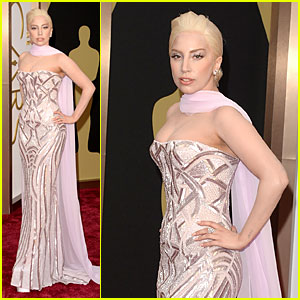 Lady GaGa Oscar's 2014