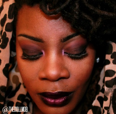 Fall 2014 Vamp Lids and lips with leopard hood IG