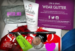 Inside November's Glam Bag