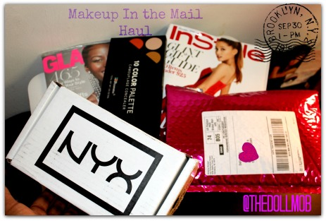 Makeup in the mail