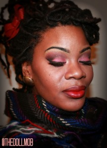 NYE Rainbow look idea Red Gold and black Me