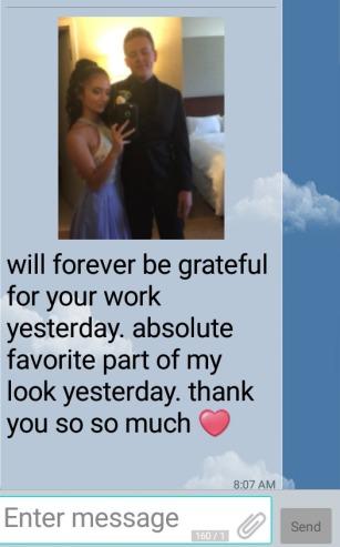 Client Testimonial Text